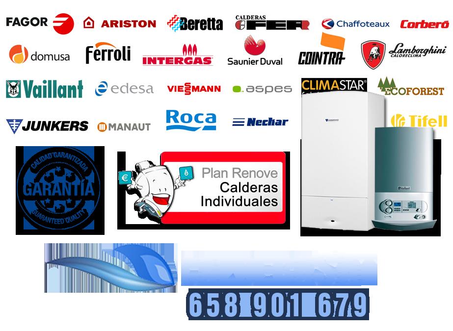 Marcas de calderas del Servicio Tecnico de Calderas en Madrid Toledo y Segovia CaldeSAT