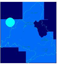 Mapa de la Cuenca Media del Jarama donde trabaja el Servicio Tecnico de Calderas Madrid Norte CalderaSAT