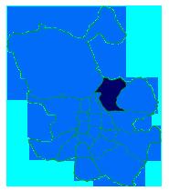 Mapa del Distrito Hortaleza donde trabaja el Servicio Tecnico de Calderas Madrid Centro CalderaSAT
