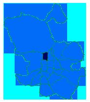 Mapa del Distrito Tetuan donde trabaja el Servicio Tecnico de Calderas Madrid Centro CalderaSAT