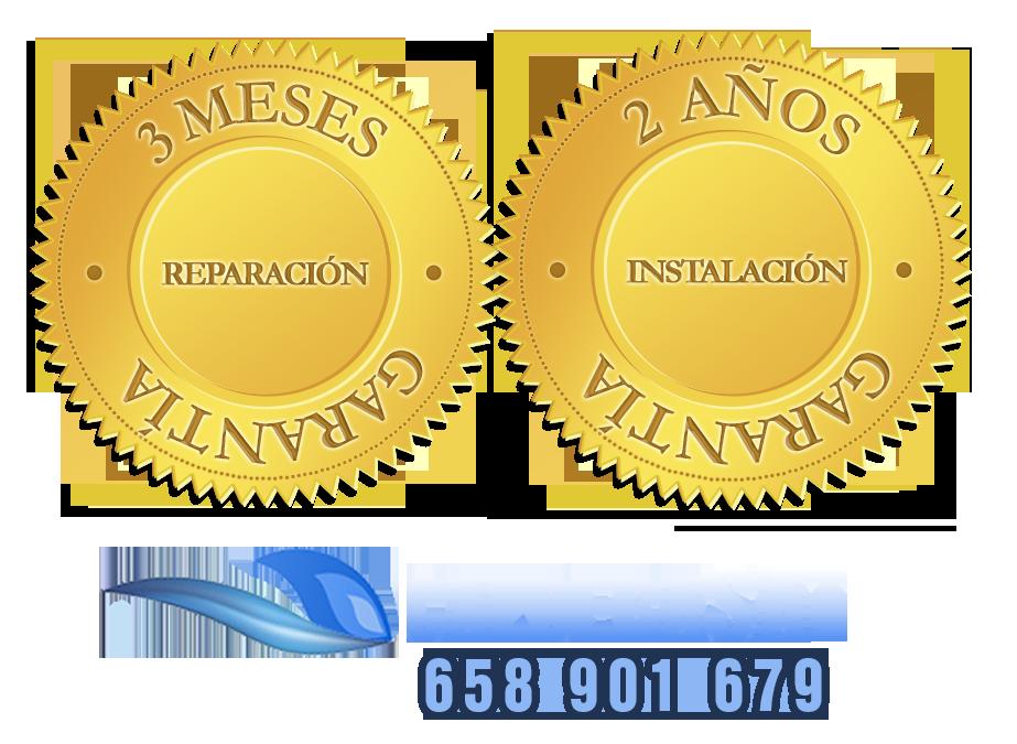 Certificados de ´Garantia de 2 años en instalaciones de calderas de gas y gasoleo y garantia de 3 meses en reparaciones de calderas