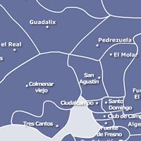 Mapa de Servicio Tecnico de Calderas Madrid Norte
