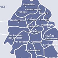 Mapa de Servicio Tecnico de Calderas Madrid Oeste