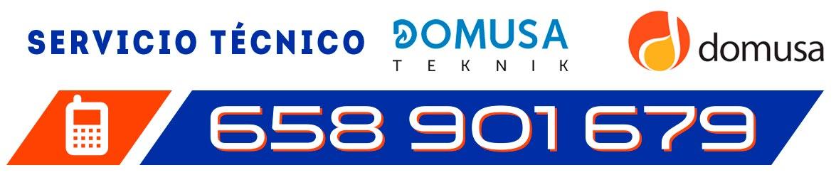 Servicio Técnico certificado de calderas domusa en Carranque